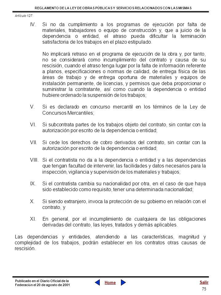 Artículo 127.
