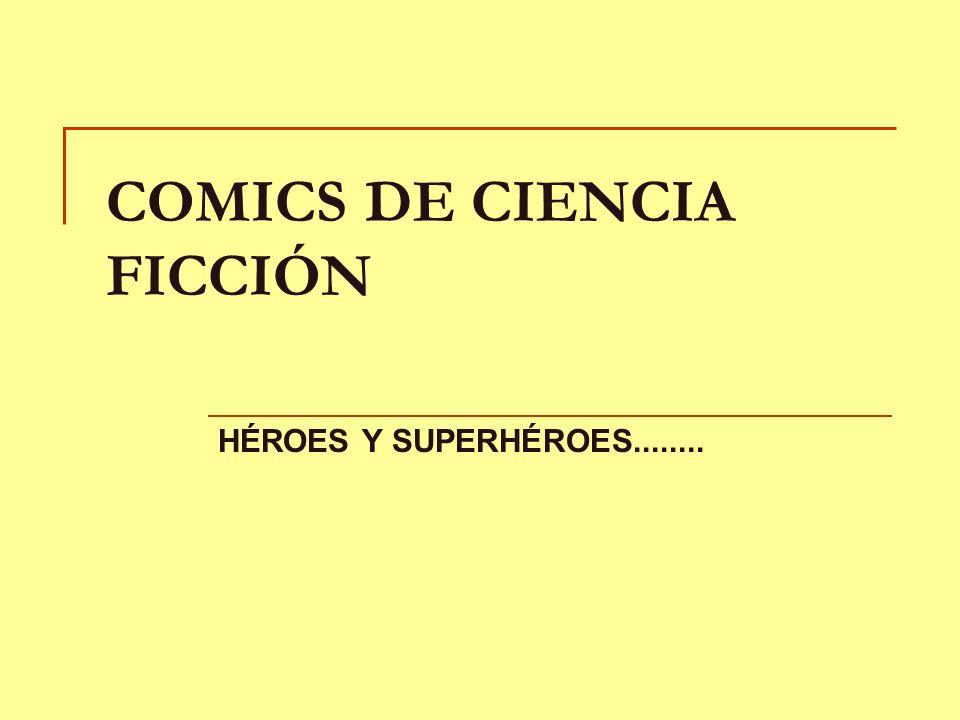 COMICS DE CIENCIA FICCIÓN