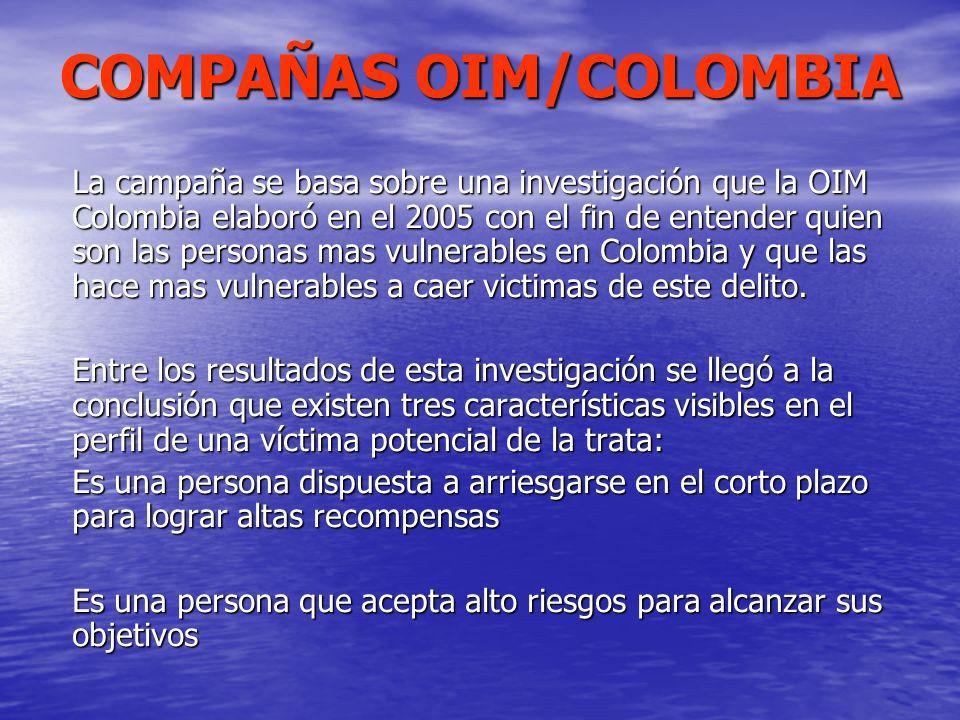 COMPAÑAS OIM/COLOMBIA