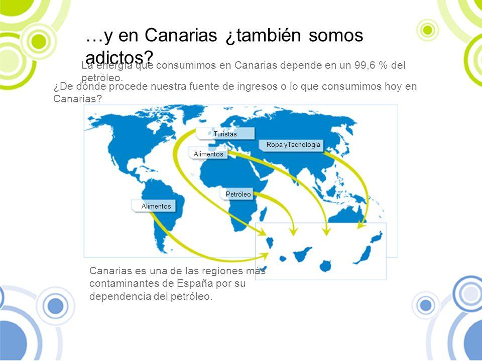 …y en Canarias ¿también somos adictos
