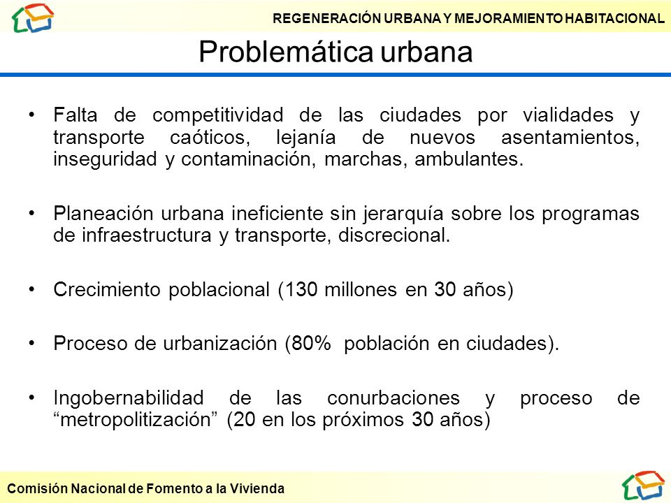 Problemática urbana
