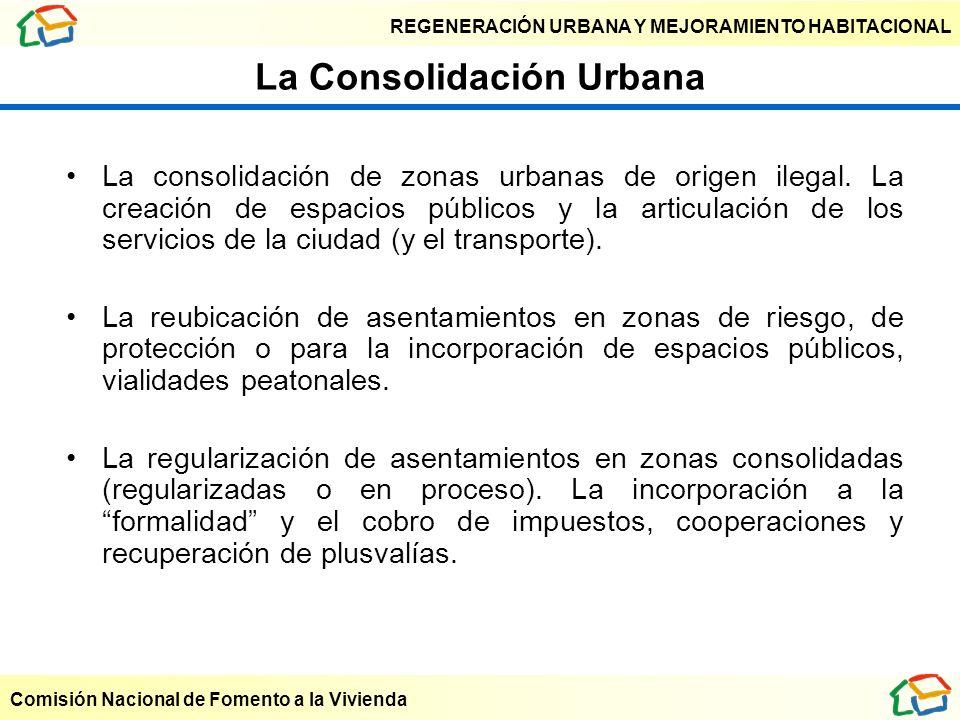La Consolidación Urbana