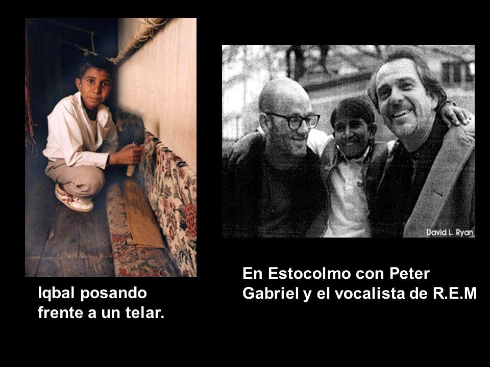En Estocolmo con Peter Gabriel y el vocalista de R.E.M