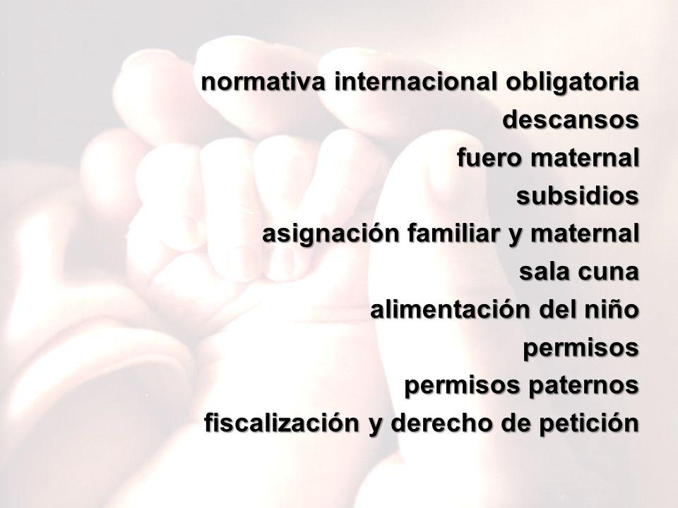 normativa internacional obligatoria