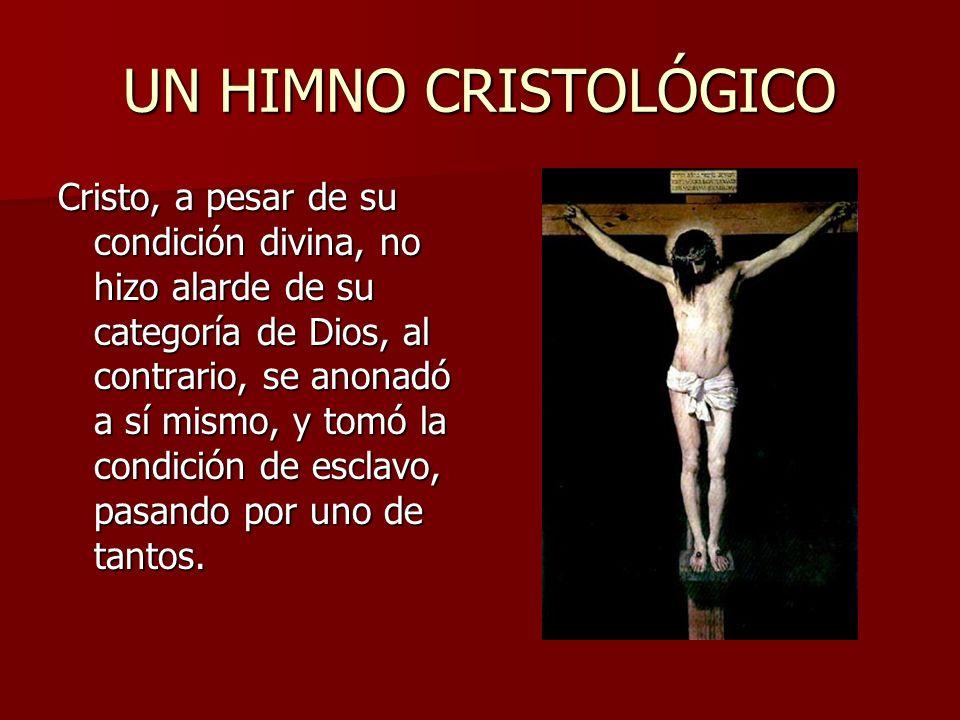 UN HIMNO CRISTOLÓGICO