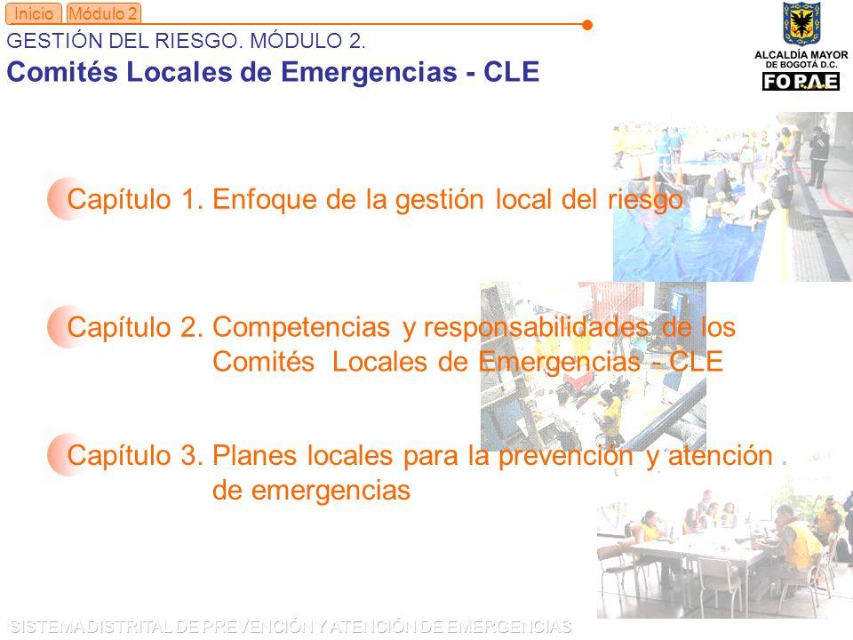 Comités Locales de Emergencias - CLE