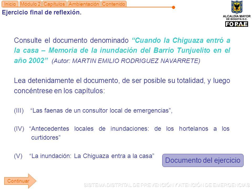 Documento del ejercicio