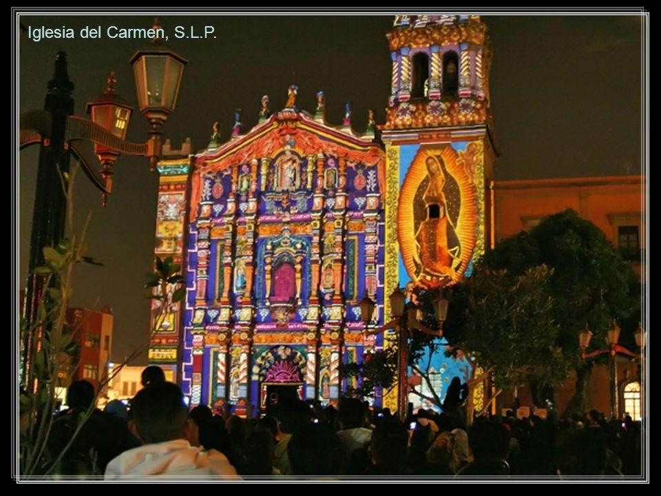 Iglesia del Carmen, S.L.P.