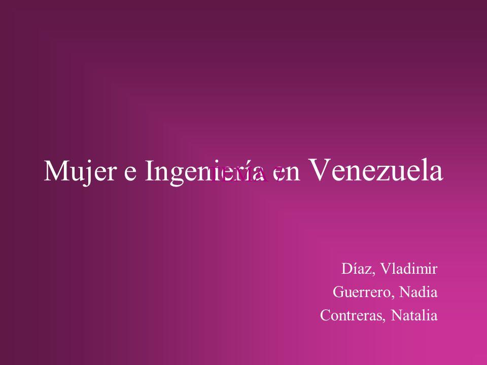 Mujer e Ingeniería en Venezuela