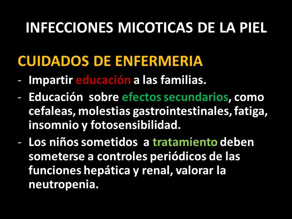 INFECCIONES MICOTICAS DE LA PIEL