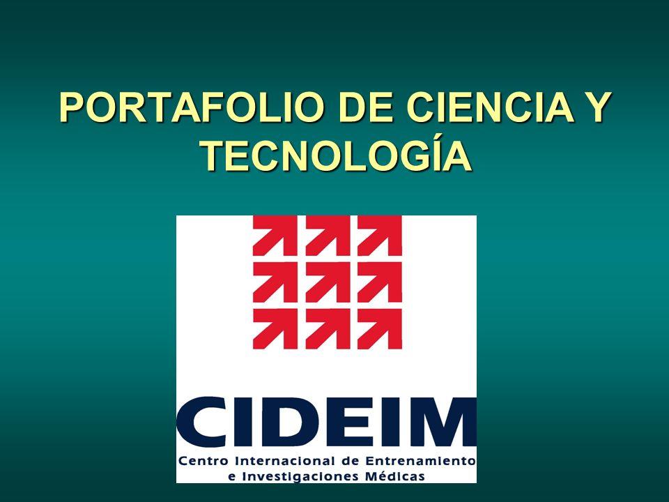 PORTAFOLIO DE CIENCIA Y TECNOLOGÍA