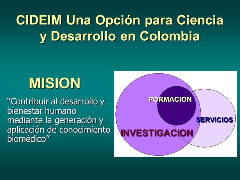 CIDEIM Una Opción para Ciencia y Desarrollo en Colombia