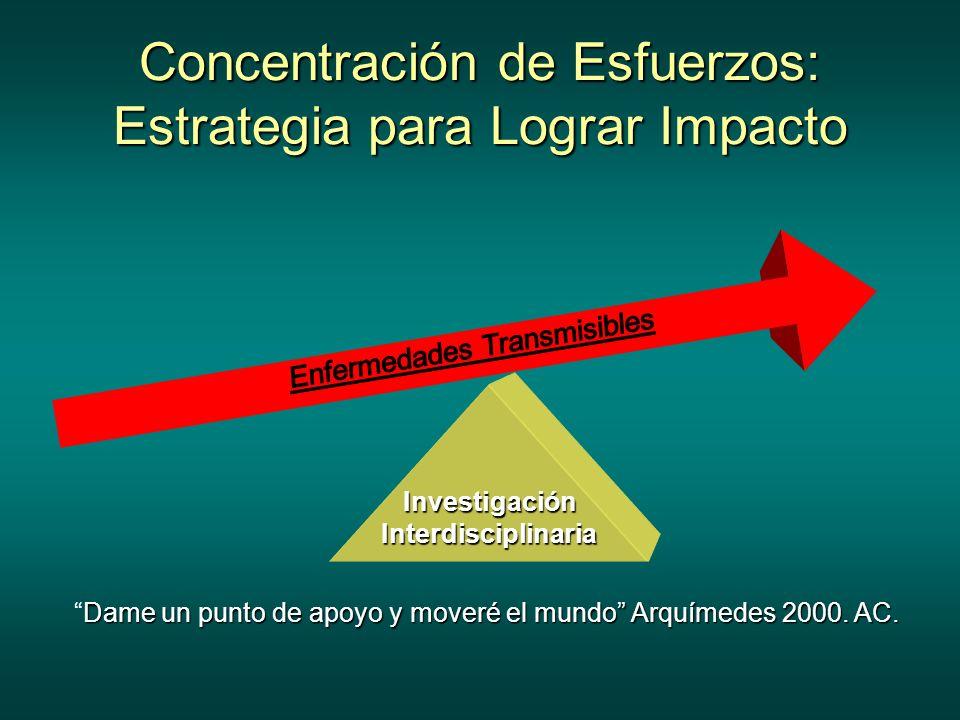 Concentración de Esfuerzos: Estrategia para Lograr Impacto