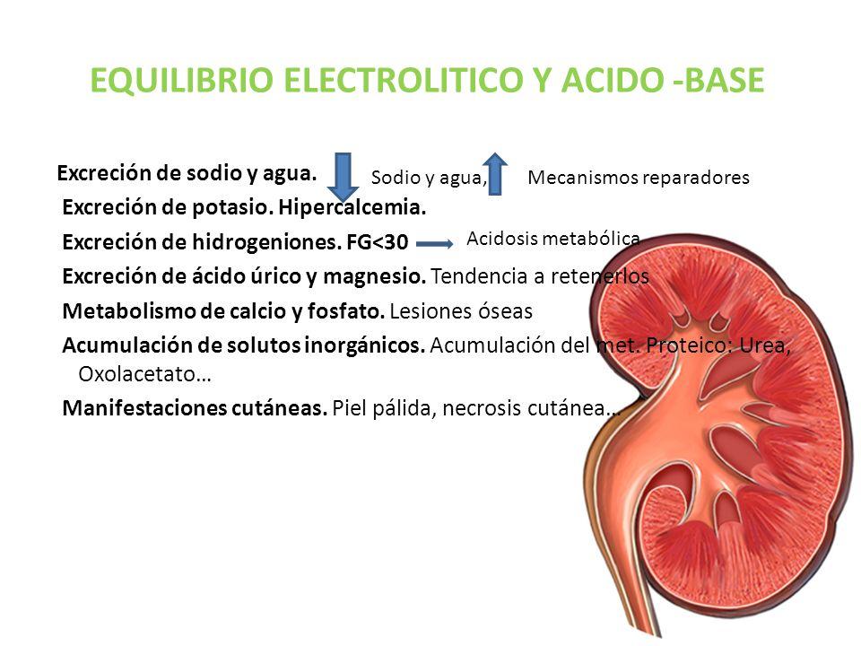 EQUILIBRIO ELECTROLITICO Y ACIDO -BASE