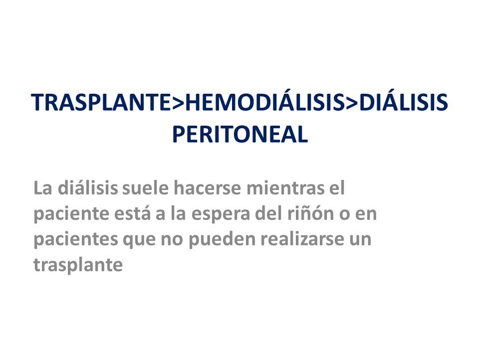TRASPLANTE>HEMODIÁLISIS>DIÁLISIS PERITONEAL