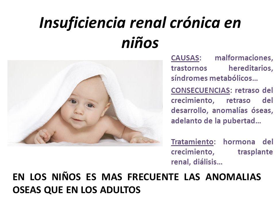 Insuficiencia renal crónica en niños