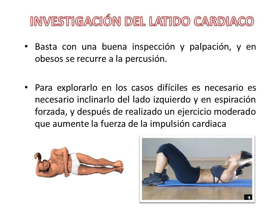 INVESTIGACIÓN DEL LATIDO CARDIACO