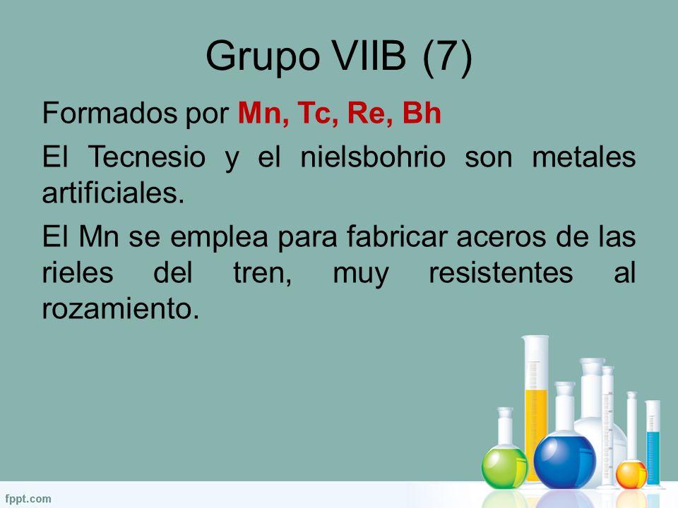 Grupo vii b tabla periodica gallery periodic table and sample with el cuerpo y la matera ppt video online descargar 48 grupo viib flavorsomefo gallery urtaz Images