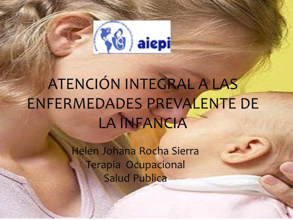 ATENCIÓN INTEGRAL A LAS ENFERMEDADES PREVALENTE DE LA INFANCIA