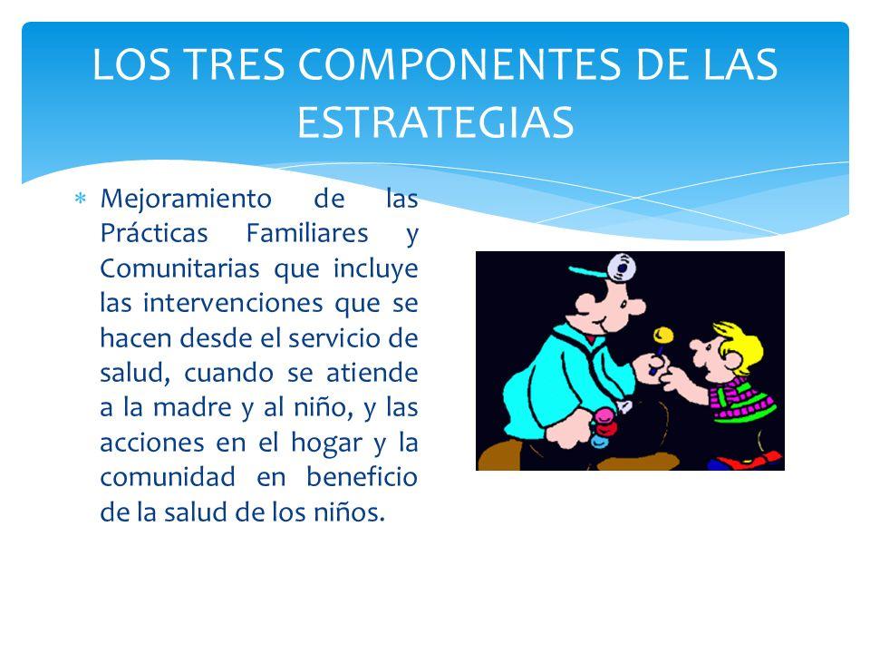 LOS TRES COMPONENTES DE LAS ESTRATEGIAS