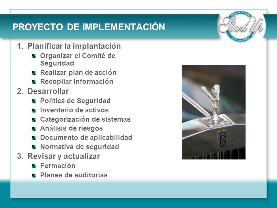 PROYECTO DE IMPLEMENTACIÓN