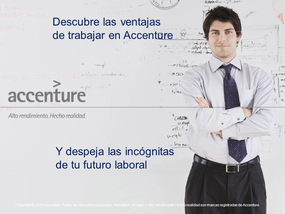 Descubre las ventajas de trabajar en Accenture