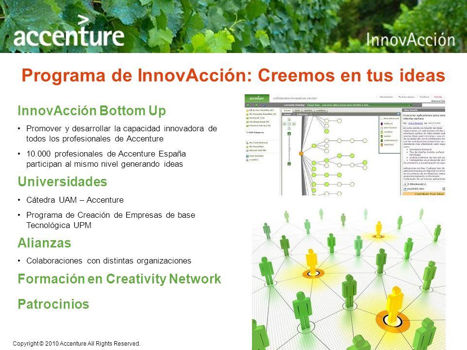 Programa de InnovAcción: Creemos en tus ideas