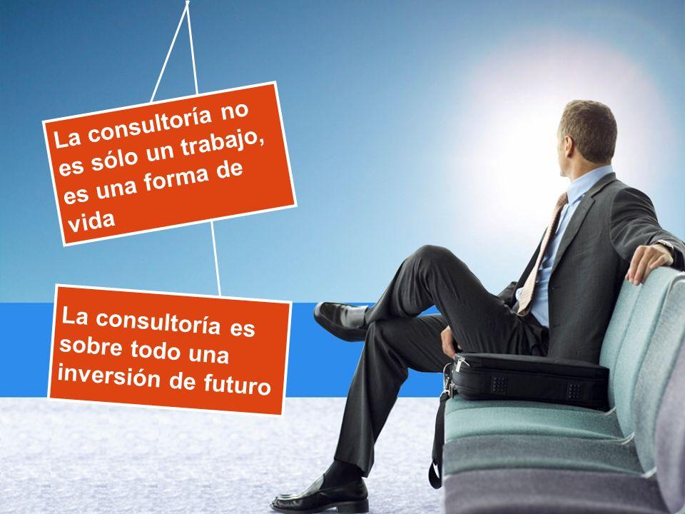 La consultoría es sobre todo una inversión de futuro