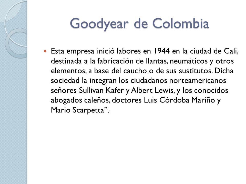 Goodyear de Colombia