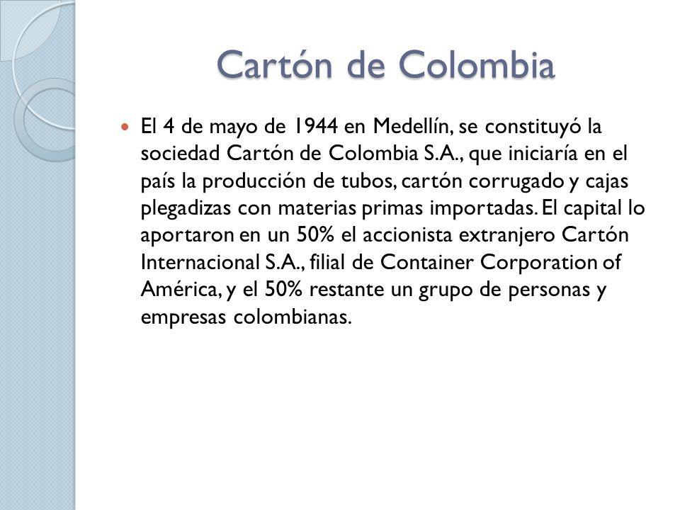 Cartón de Colombia
