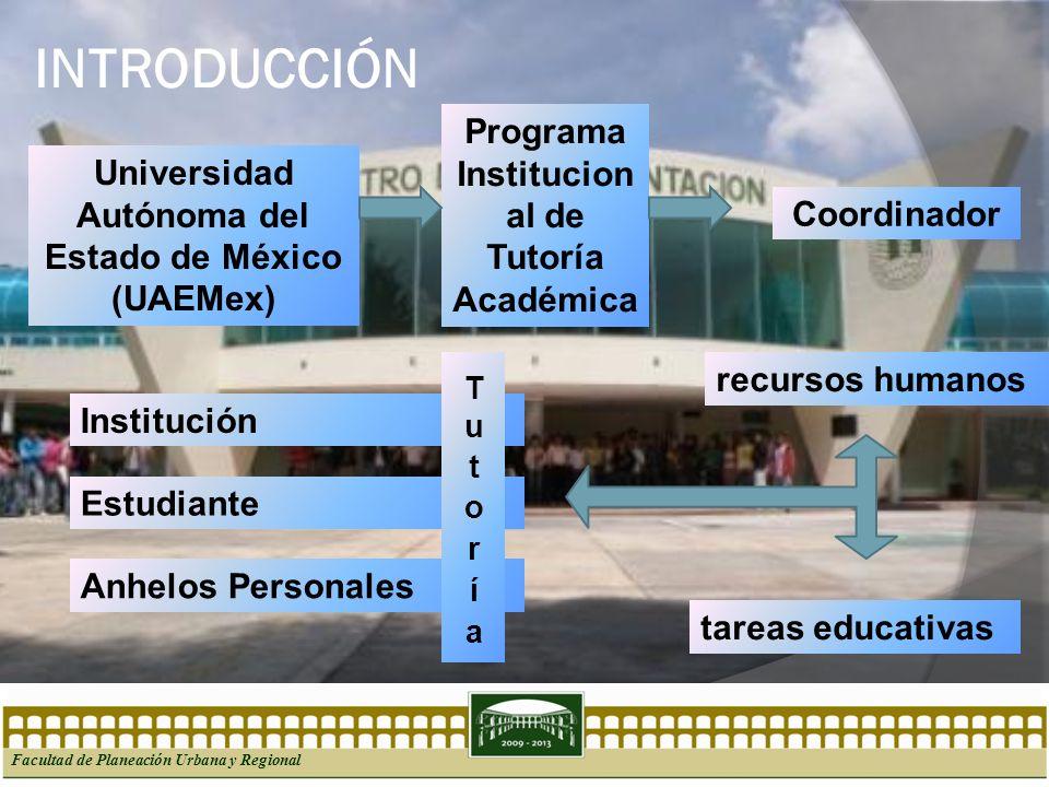 INTRODUCCIÓN Programa Institucional de Tutoría Académica