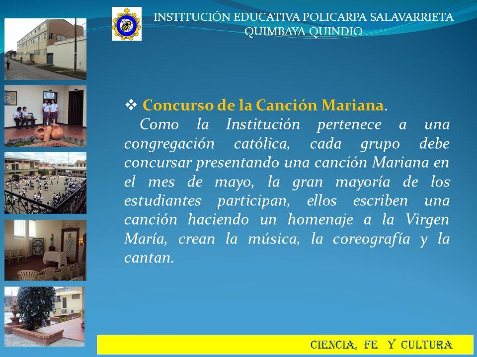 Concurso de la Canción Mariana.