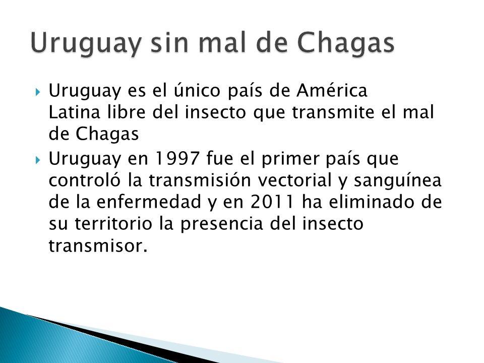 Uruguay sin mal de Chagas