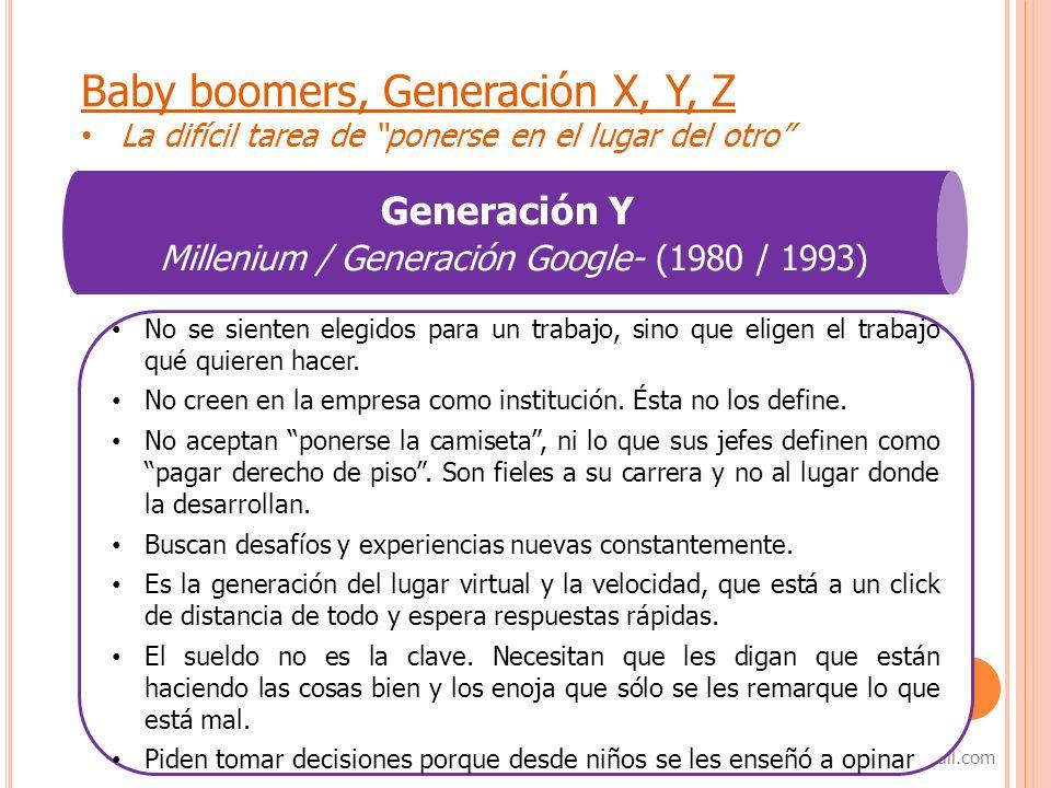 Millenium / Generación Google- (1980 / 1993)