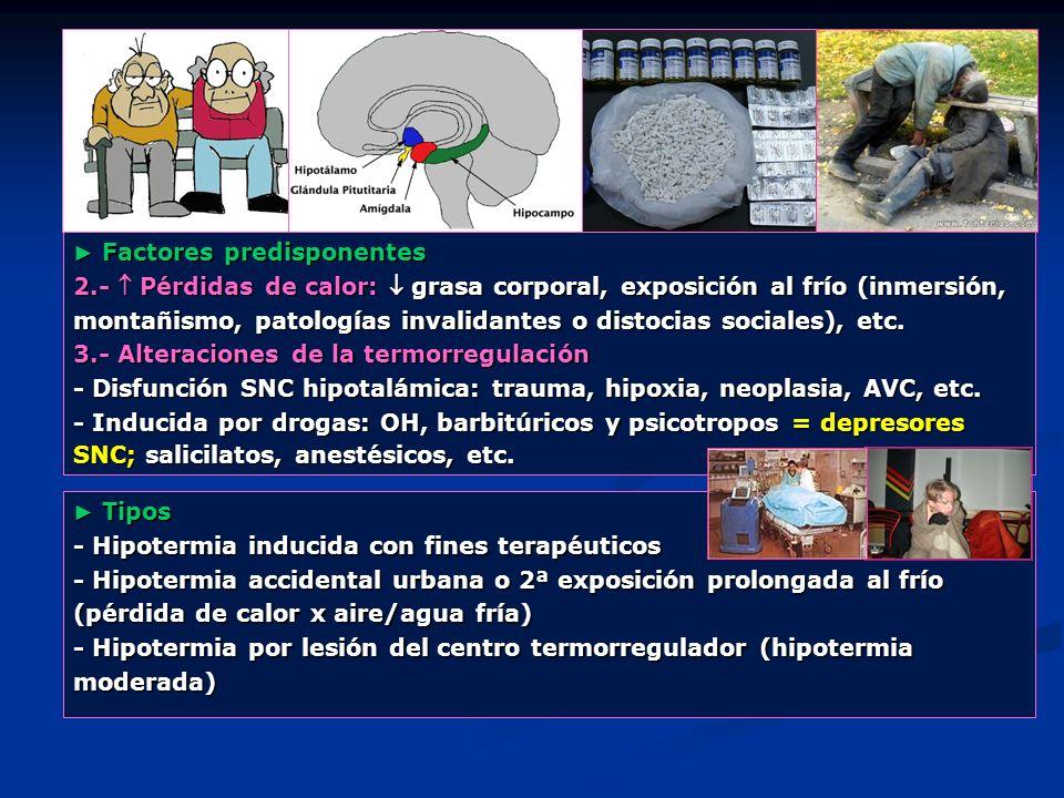 ► Factores predisponentes
