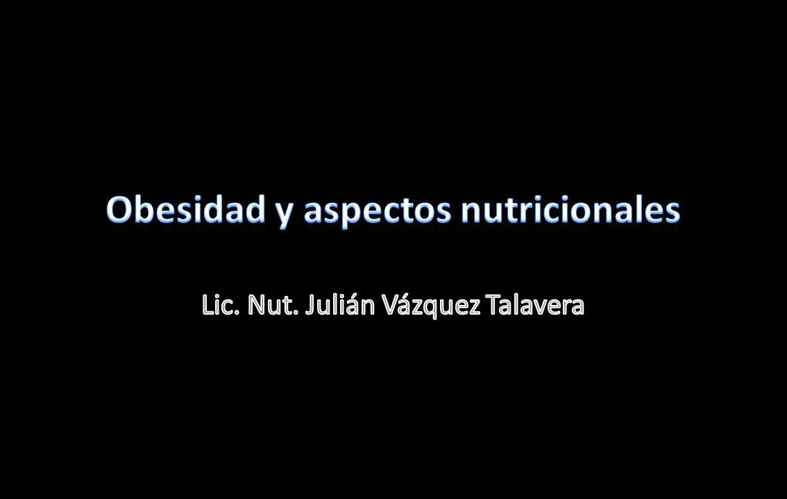 Obesidad y aspectos nutricionales