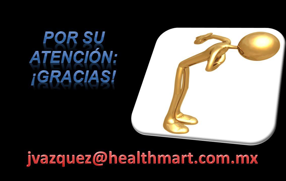 Por su atención: ¡GRACIAS! jvazquez@healthmart.com.mx 42