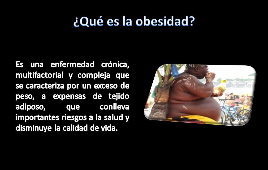 ¿Qué es la obesidad