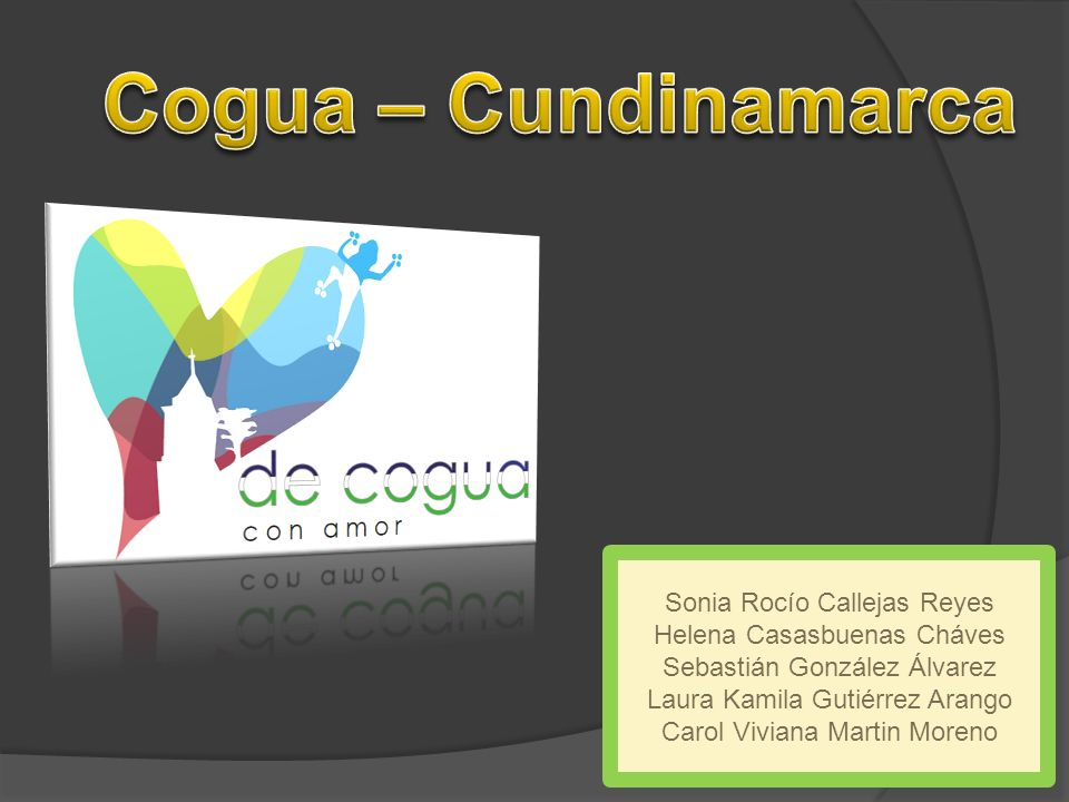 Cogua – Cundinamarca Sonia Rocío Callejas Reyes