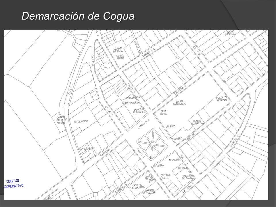 Demarcación de Cogua