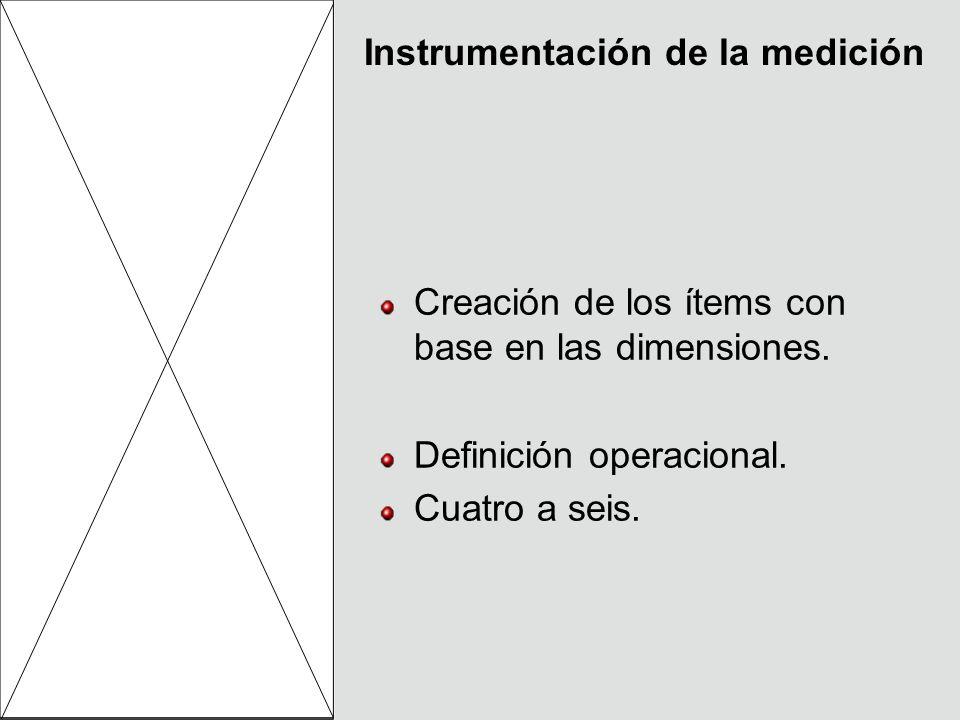 Instrumentación de la medición