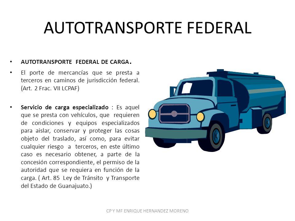 AUTOTRANSPORTE FEDERAL