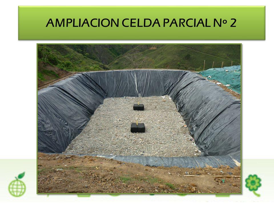 AMPLIACION CELDA PARCIAL Nº 2