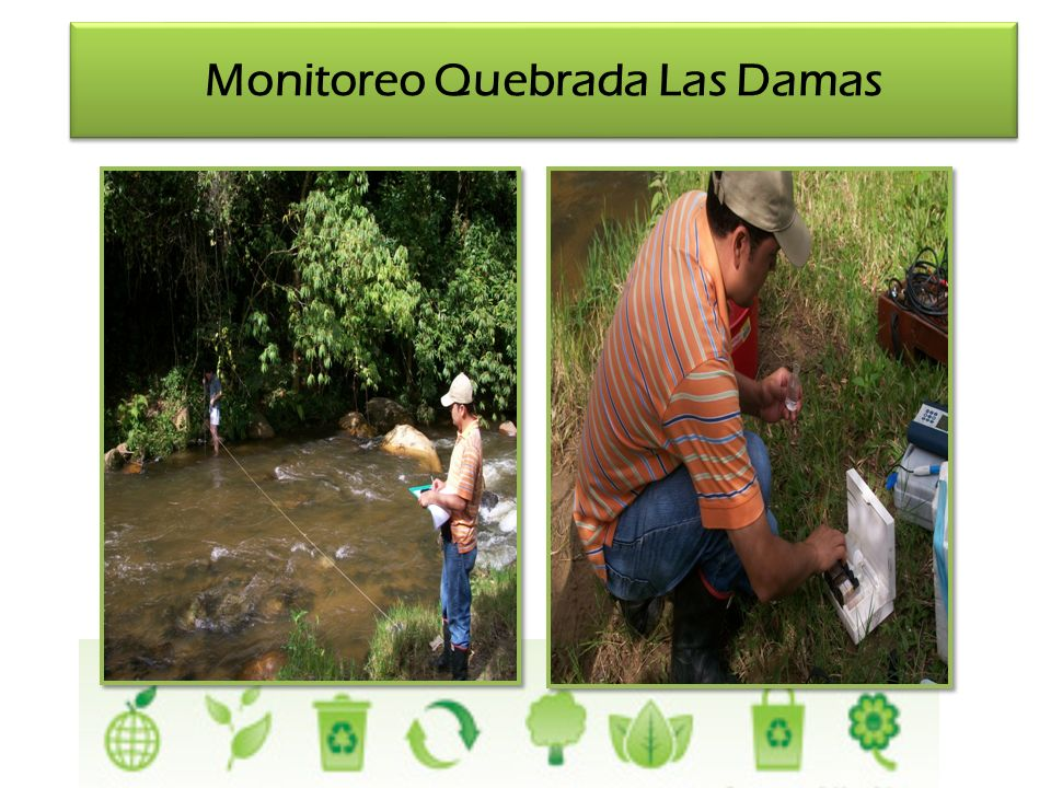 Monitoreo Quebrada Las Damas