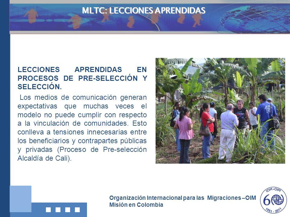 MLTC: LECCIONES APRENDIDAS