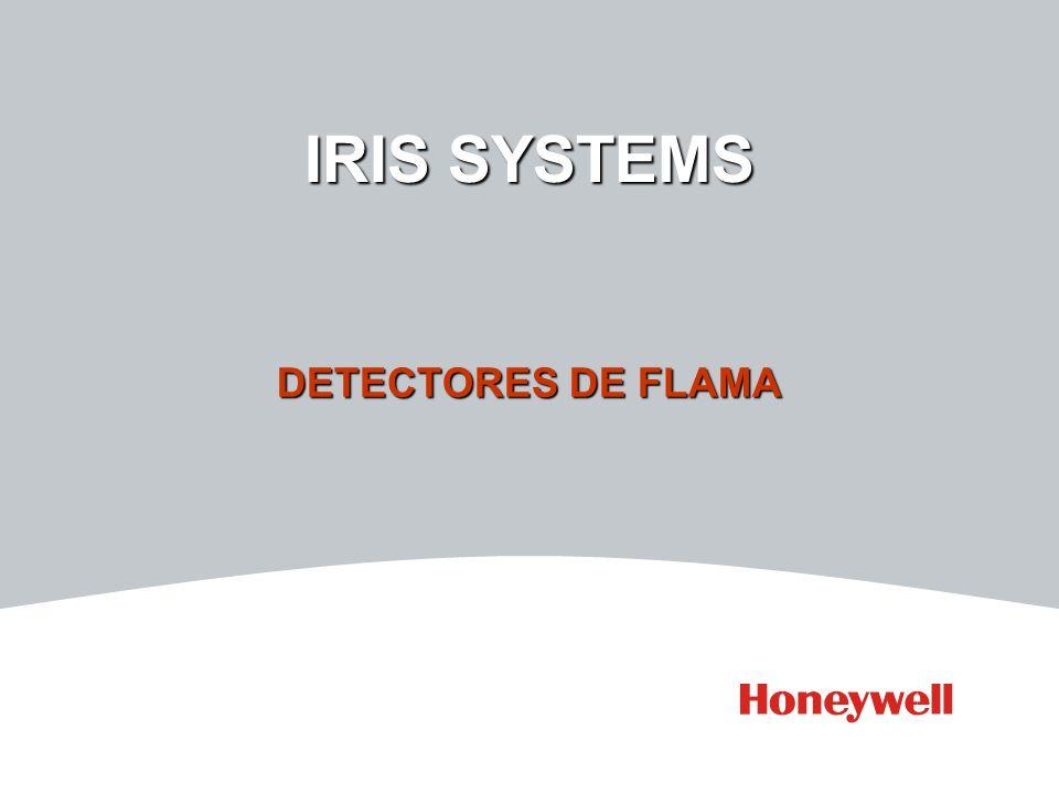 IRIS SYSTEMS DETECTORES DE FLAMA Temas IRIS Procesador P522