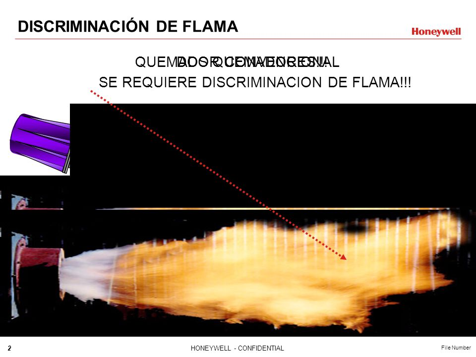 DISCRIMINACIÓN DE FLAMA