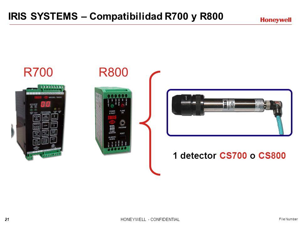 R700 R800 IRIS SYSTEMS – Compatibilidad R700 y R800