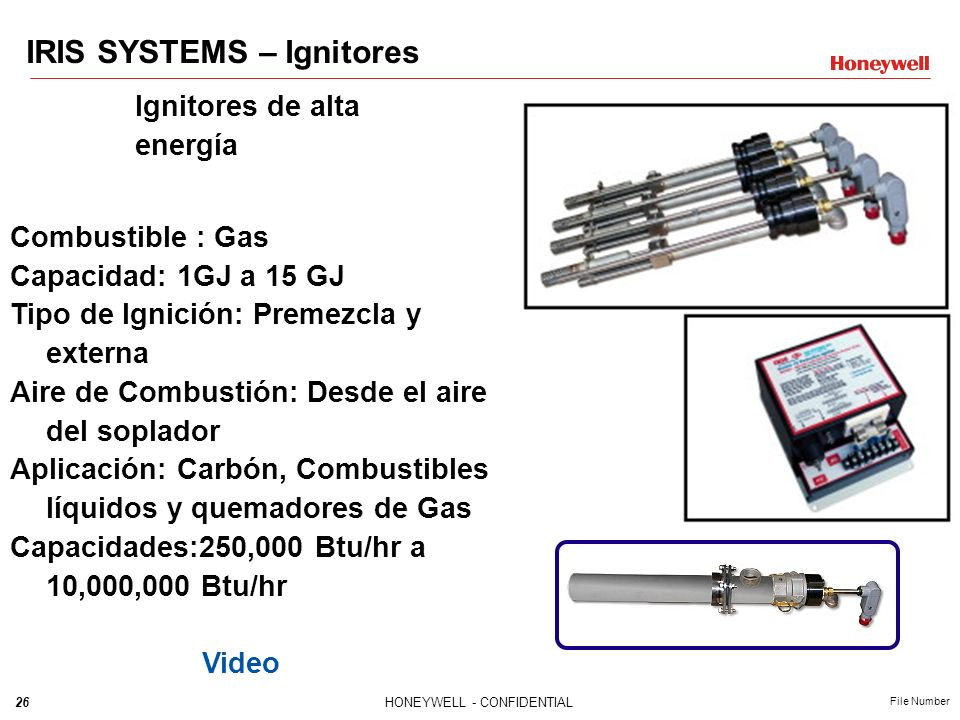 IRIS SYSTEMS – Ignitores