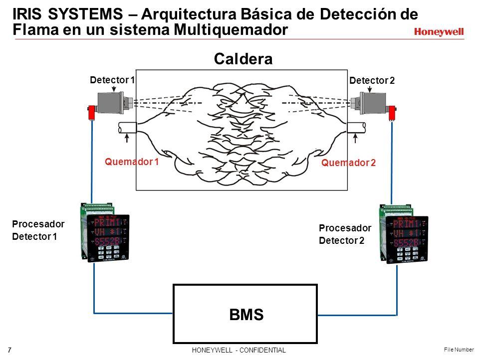 IRIS SYSTEMS – Arquitectura Básica de Detección de Flama en un sistema Multiquemador
